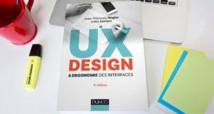 livre ux design et ergonomie des interface usabilis