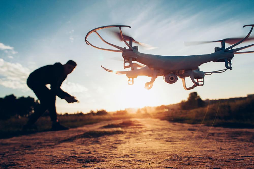 pilote de drone